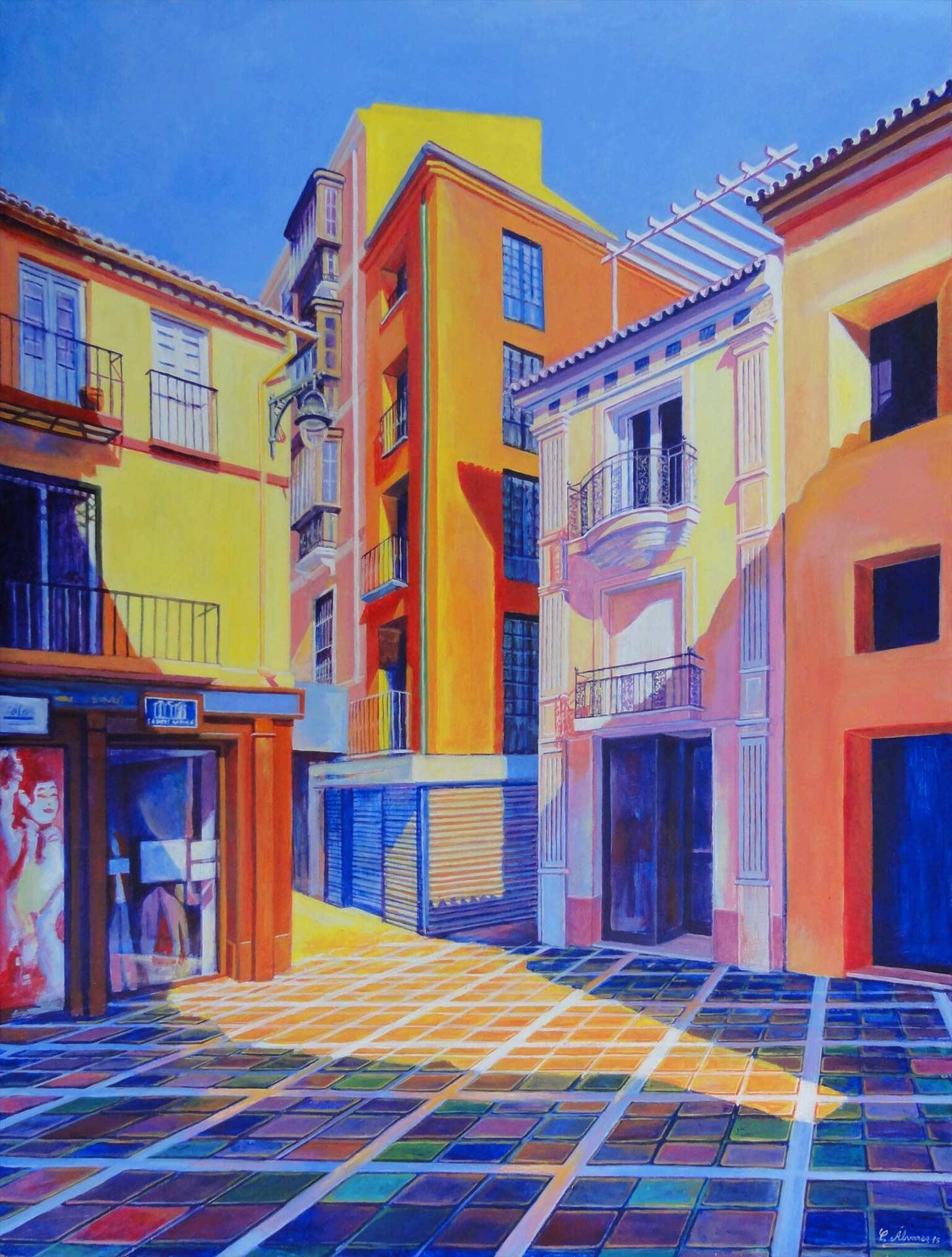 Stoa_Hacia el postigo de San Juan