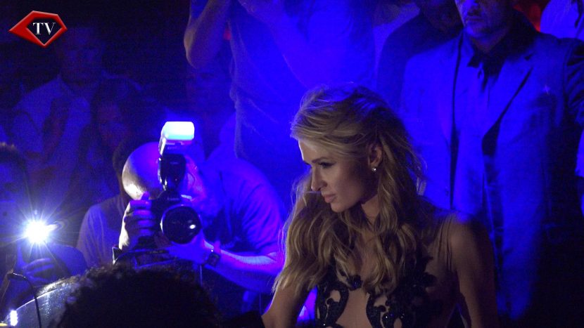 Paris Hilton at Olivia Valere Marbellla