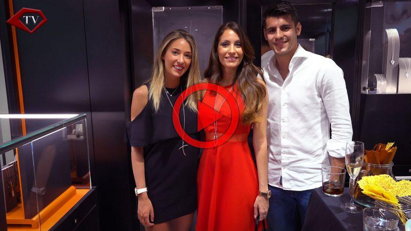 Alice Campello Alvaro Morata Ariana Soffici Alfieri Madrid